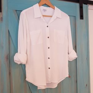 Splendid white button down M